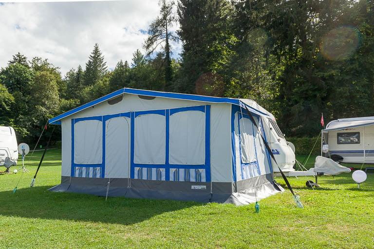 Saisonstellplätze Camping Hüttenberg
