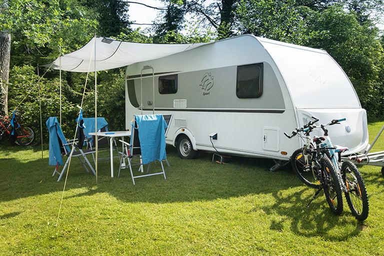 Saisonstellplatz Camping Hüttenberg