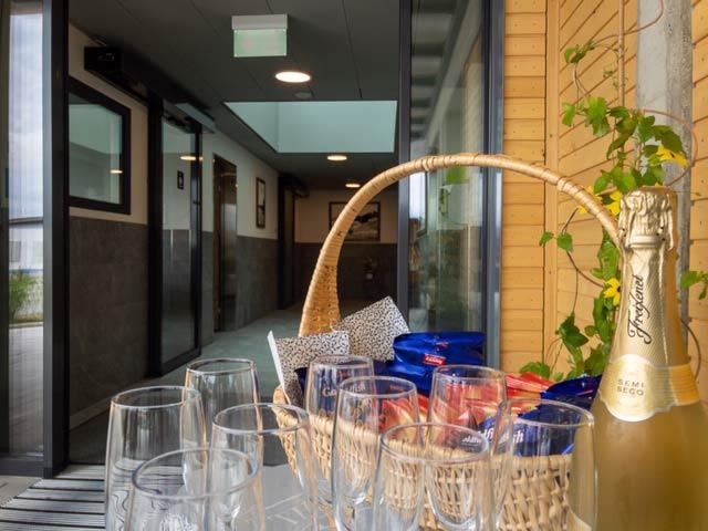 Eröffnung neue Sanitäranlage